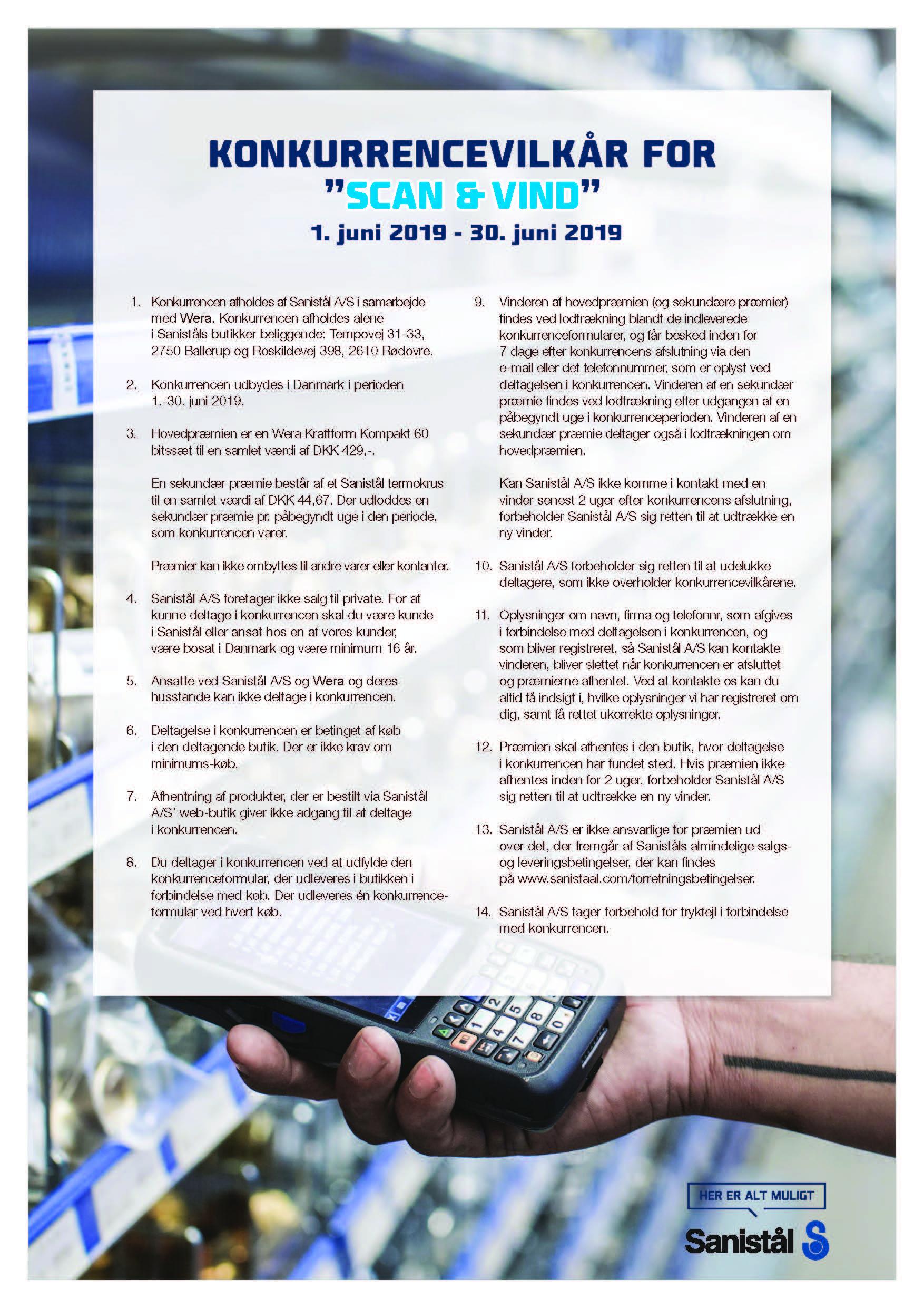 Scan Og Vind Konkurrence Juni 2019